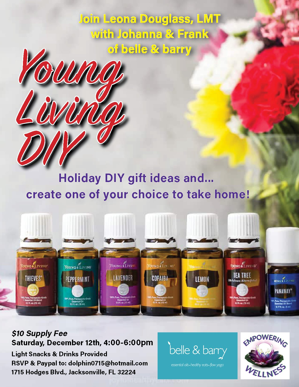 Young Living DIY -belle & barry