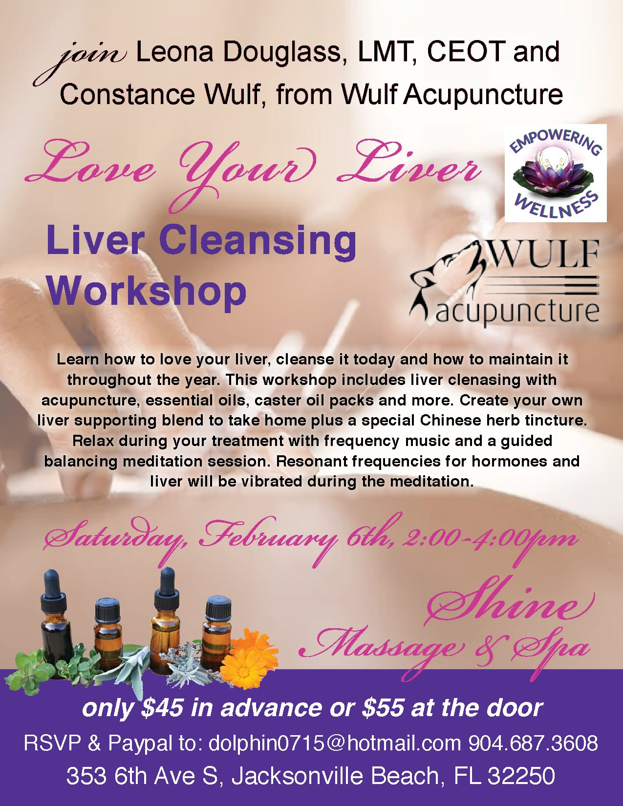 Liver Cleansing Workshop Feb