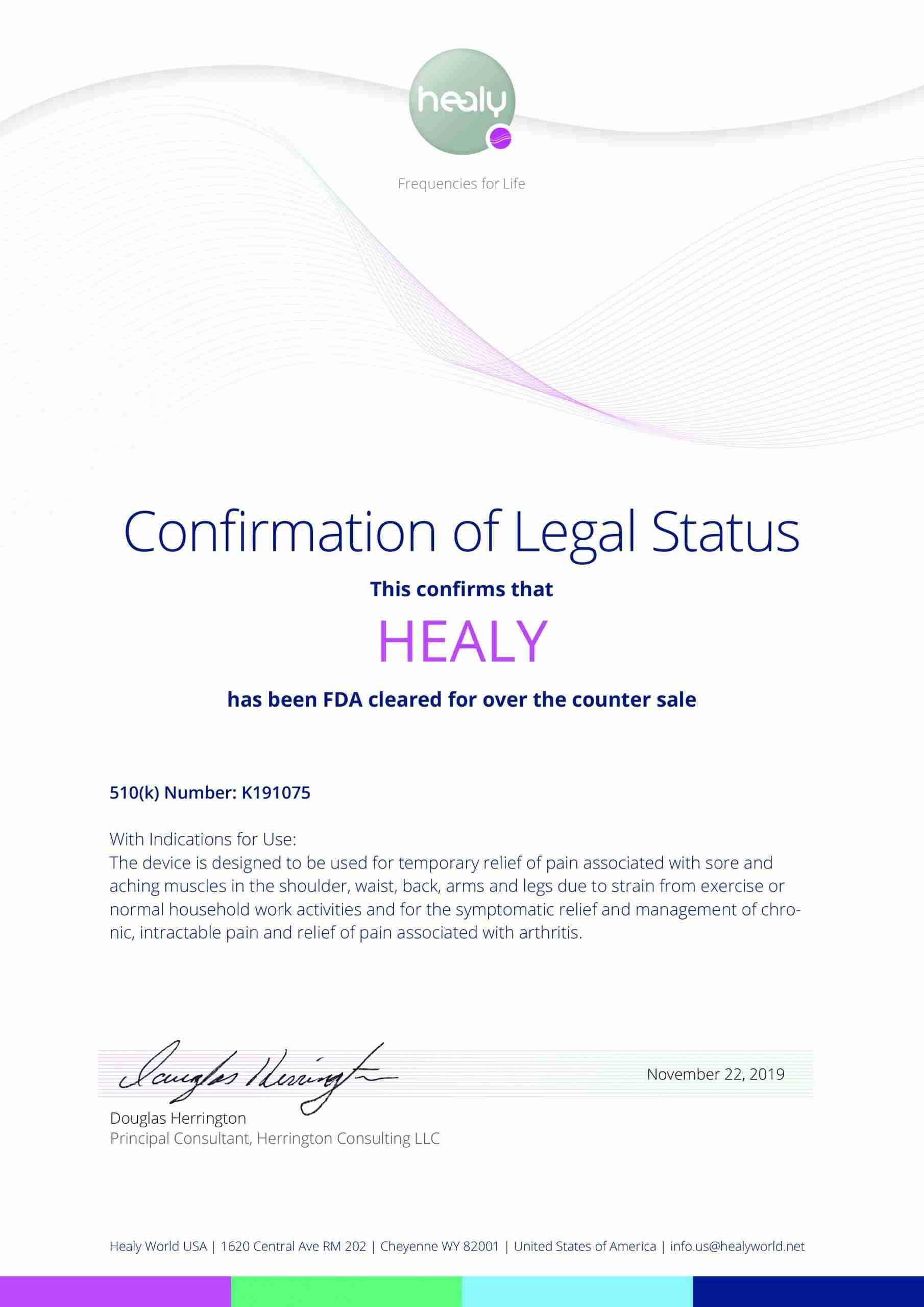 Healy_FDA-Confirmation-of-Clearance_EN